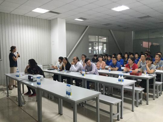 Standard Profil Open Door Meetings started at our China Plant