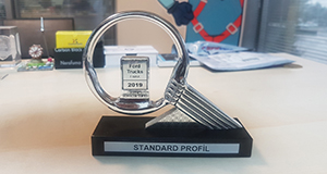 """Project Success Award"" from Ford Otosan to Standard Profil"