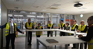 Turkey's ambassador to Spain visited Standard Profil Logrono facilities